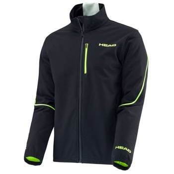 Softshell Head RACE TEAM JACKET JUNIOR BLACK