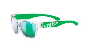 Sunglasses UVEX SPORTSTYLE 508 Clear Green Junior