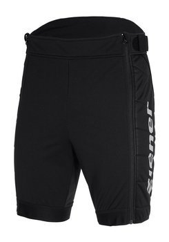 ZIENER RCE SOFTSHELL SHORTS JUNIOR BLACK - 2020/21