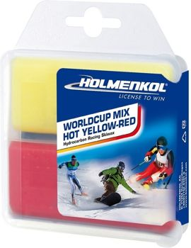 Smar na gorąco HOLMENKOL WORLD CUP MIX HOT YELLOW-RED 2X35G